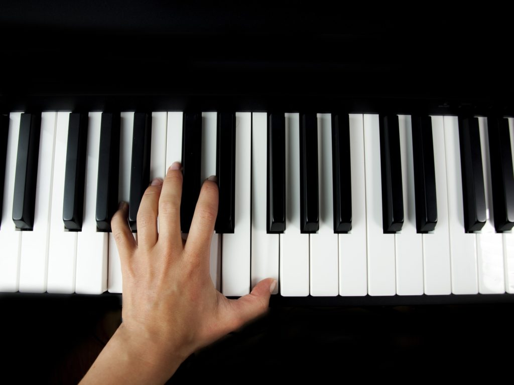 nauka gry na pianinie kraków